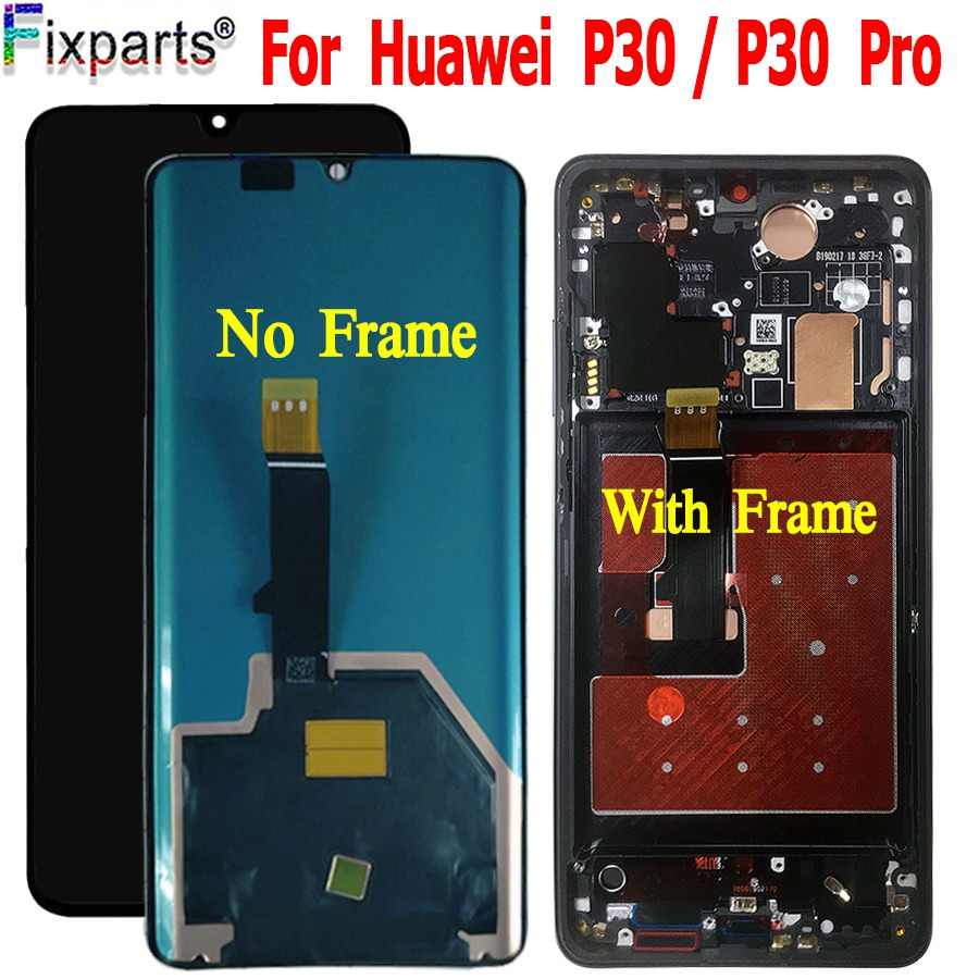 NEW For Huawei <font><b>P30</b></font> Pro <font><b>LCD</b></font> Touch Screen Digitizer Assembly Huawei <font><b>P30</b></font> <font><b>LCD</b></font> display Huawei P30Pro Display VOG-L29 ELE-L29 MAR-LX1M image