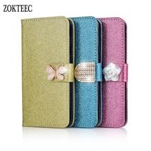 ZOKTEEC Fashion Phone Cases For Motorola Moto G5 case G5S Plus Luxury Wallet Flip Cover Leather Case