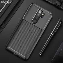 Carbon Fiber Case For Xiaomi Redmi Note 9S Case 9 Pro Max 8T 8 7 Cover Soft Phone Bumper For Xiaomi Redmi 8A 7A 6A 6 Funda Etui недорого