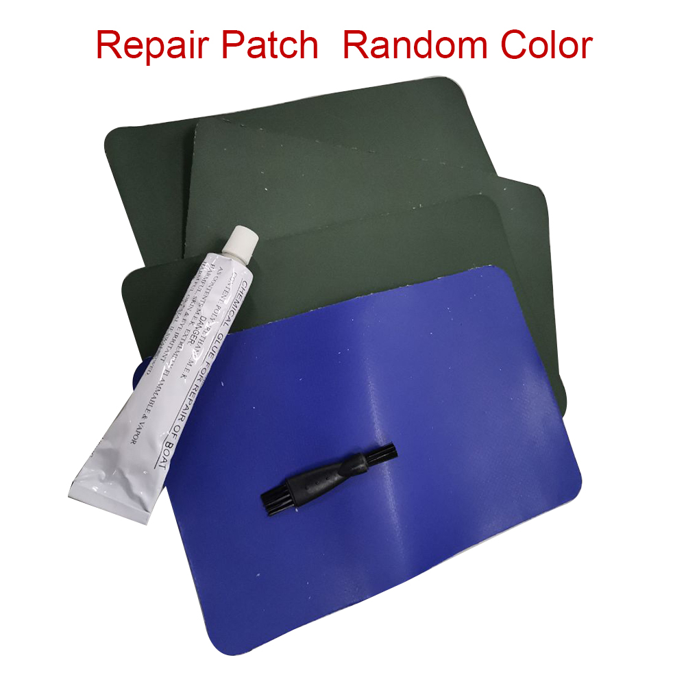 PVC Repair Patch Kit for Kayak Dinghy Drift Boats Inflatable Boats Special Damag
