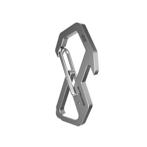 Image 1 - NITECORE NSH10 Multiuse Titanium Snap Hook Anti corrosion Ultra Lightweight Hanging Tool  45 degress Elastic Spring Gate
