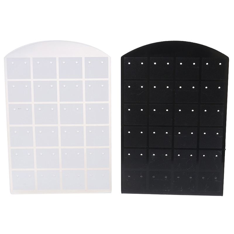 1Pcs Practical 48hole Earring Display Stand Or Convenient Jewelry Holder Show Case Tool