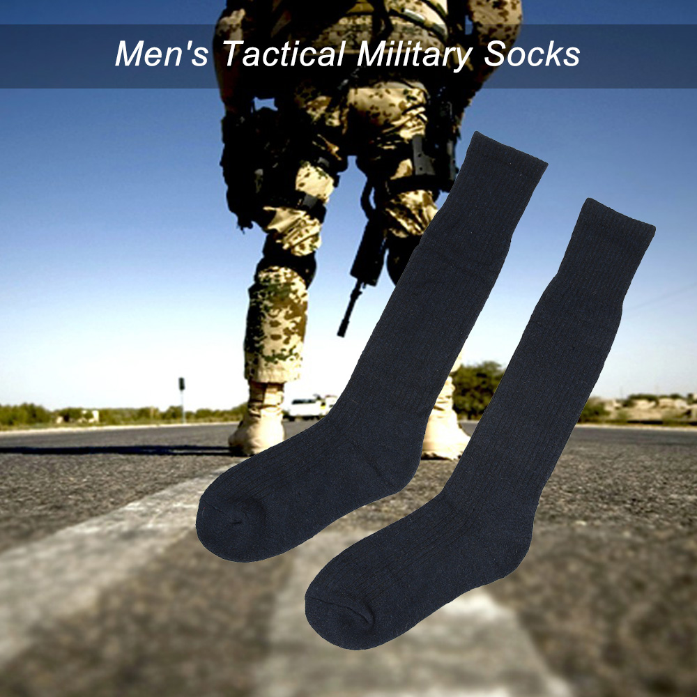 1 Pairs Military Men Army Socks Outdoor Backpacking Trekking Hiking Boot Socks