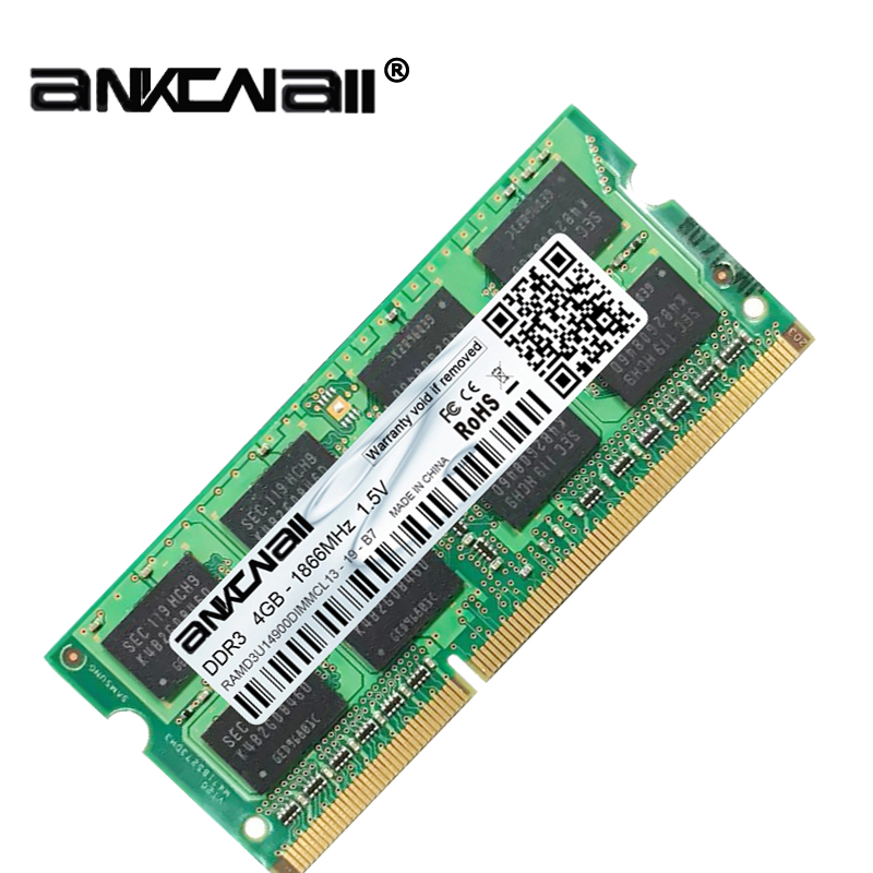 New DDR3L 4GB /8G Laptop RAM Memory For Intel System High Compatible 4