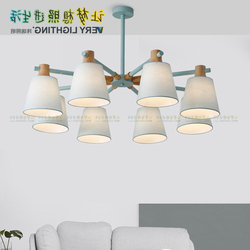 Nordic japoński Led drewno dębowe lampa wisząca oprawa wisząca lampa Lustre Avize strona główna sypialnia dekoracja do salonu maison w Wiszące lampki od Lampy i oświetlenie na