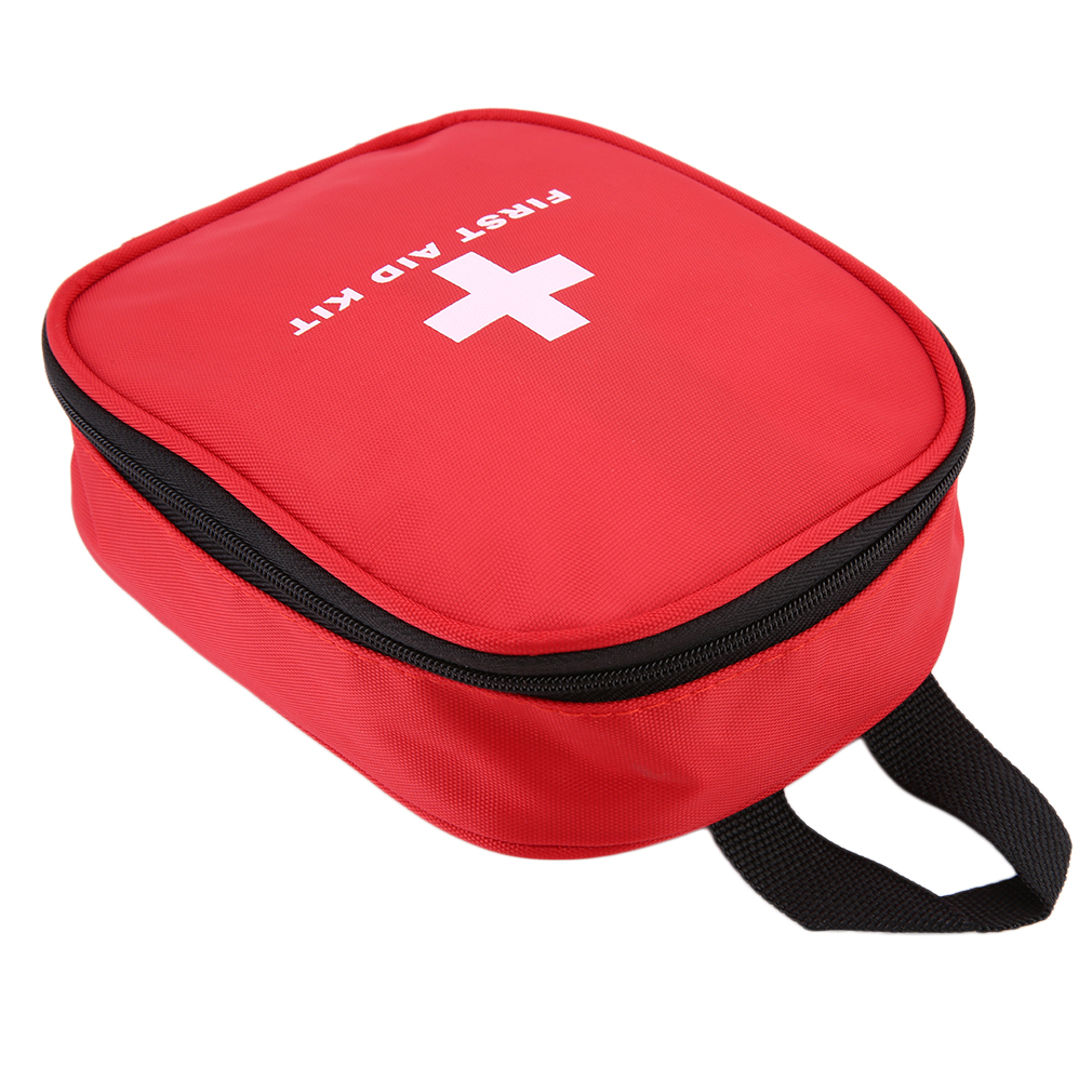 Mini Kit de primeros auxilios al aire libre bolsa de viaje portátil Paquete de medicina Kit de emergencia bolsas pequeño organizador divisor de almacenamiento de medicina Frente aparcamiento ayudar PLA 2,0 KIT de actualización de 4 K a 12 K para VW Tiguan 5N 3AA 919 475 M/S