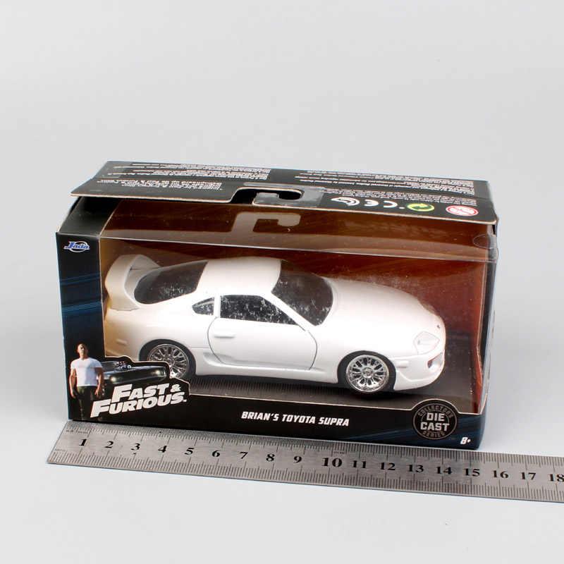 1/32 スケールジェイダトヨタスープラ 1995 F7 ダイバーブライアンの金属 Diecasts おもちゃ車モデルおもちゃの車スポーツレーシング趣味のコレクション
