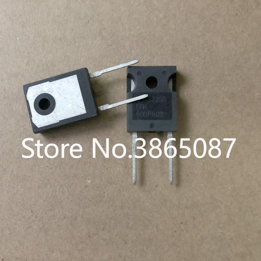 60UP60S FFH60UP60S TO-247 ультратонкий Восстанавливающий выпрямительный диод 20 шт./лот оригинальный новый