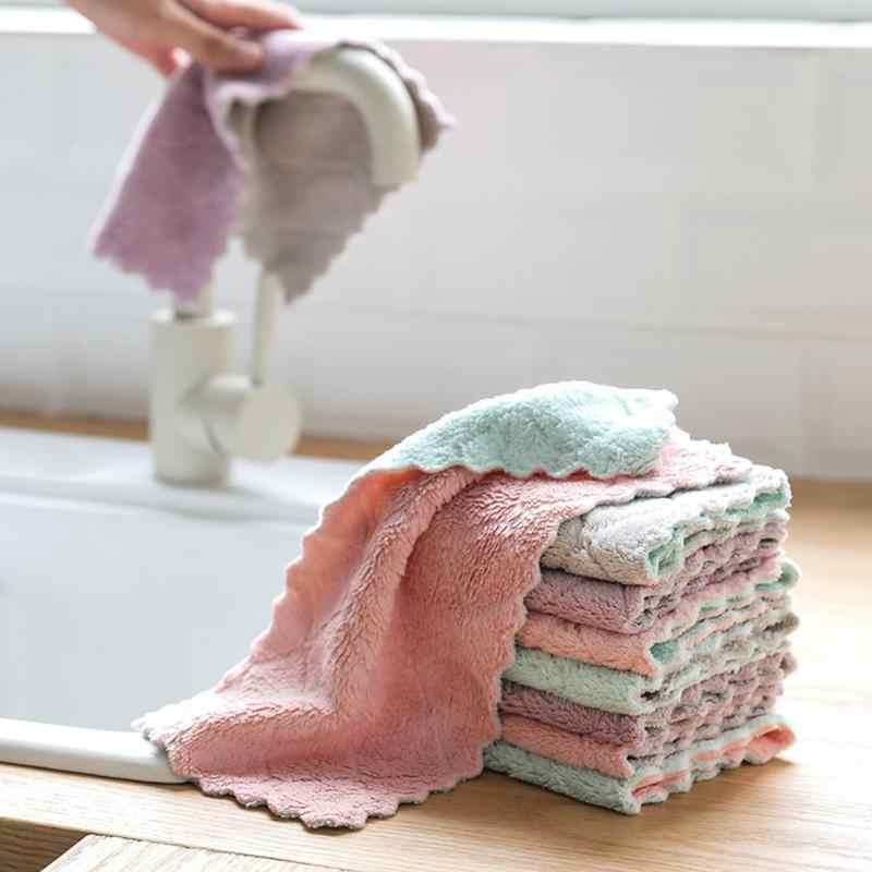 Siêu Thấm Hút Bồn Rửa Vệ Sinh Vải Sử Dụng Lâu Dài Tinh Tế Lau Áo Món Ăn Nhà Khăn Làm Sạch Nhà Bếp Tiện Ích Phụ Kiện