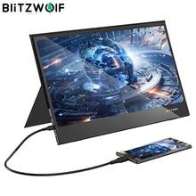BlitzWolf BW-PCM5 15,6 Zoll Berührbaren Tragbare Computer Monitor Gaming Display Bildschirm für Smartphone Tablet Laptop Spiel Konsole
