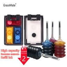Картридж с чернилами gracemate 123 для hp hp123 xl deskjet 2630