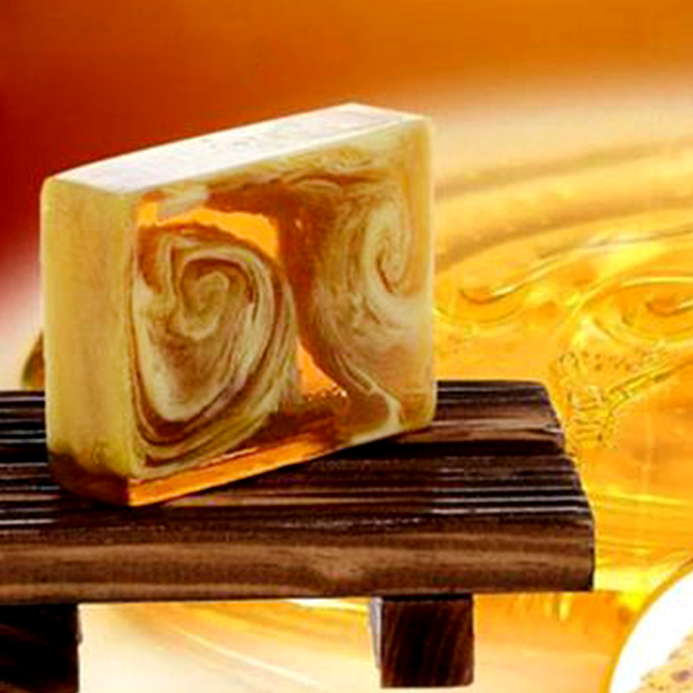 Natural Handmade Propolis Honey Milk Soap Face Care  Replenishing  Skin  Bleaching Deep Cleansing Soap #518