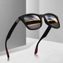 Fashion Polarized Men Sunglasses Square Sun Glasses