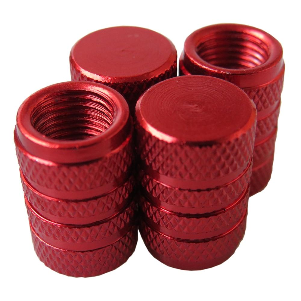 Auto Tire Valve Stem Dust Cap Car Wheel Tyre Caps Universal Automobiles Metal Valve Covers Car Accessories Aluminum Alloy 4Pcs