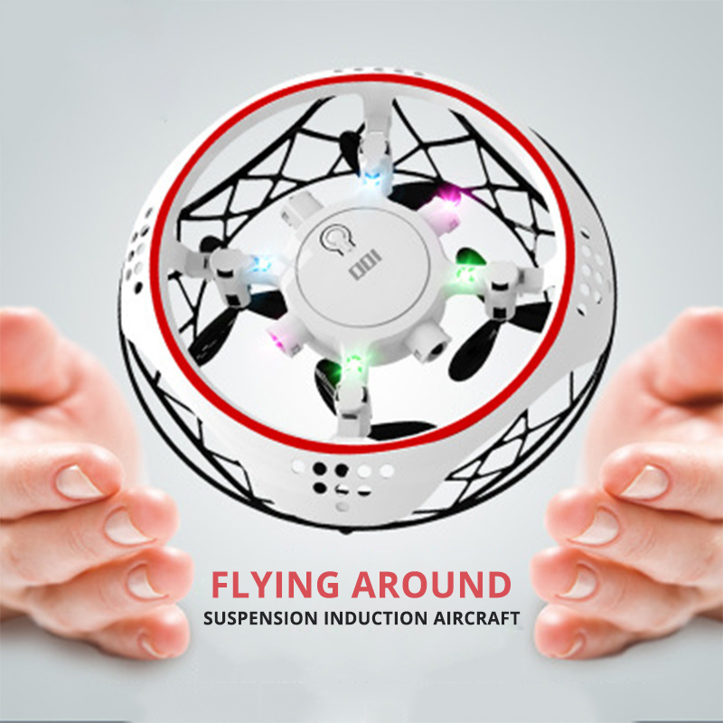 Magic Drone UFO Flayaball Flying Helicopter Small Hand Sensing Aircraft Mini Drone Quad Induction Levitation UFO Kids Xmas Toys