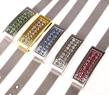 Flash USB Memory Best Selling Jewelry Usb Flash Drive 512GB HOT 2.0 128GB 16GB 64GB Pendrive 1TB 2TB Bracelet Pen Drive Gift