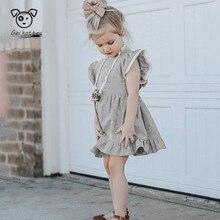 Geckatte New Baby Girl Clothes Kids Dresses For Girls Summer