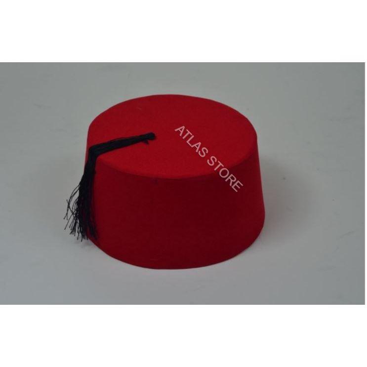 Authentic Folkloric Turkish Fes Fez, Oriental Tarboosh, Exotic Ottoman Hat