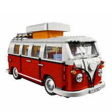 Bela 10569 Technic Volkswagen T1 Camper Van Building Blocks Sets Brick Compatible 10220 Playmobil Toys For Children lightailing led light kit for t1 camper van building blocks toys light set compatible with 10220 and 21001 for kids gift