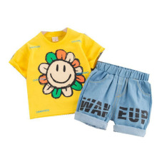 Kids Short Sleeve New Summer Children Clothing Baby Boys Girls Cartoon T Shirt Shorts 2Pcs/sets Infant Clothes Toddler Tracksuit new arrival summer toddler boys kids clothes short sleeve t shirt shorts 2 piece set baby boys girls clothing sets