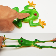 Funny Toy Vent-Toys Jokes Rubber Frog Spoof Novelty Adults Kids Children Model Simulation