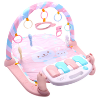 Baby Play Mat Baby GymToys 0 12 Months Soft Lighting Rattles Musical Toys For Babies Brinquedos Play Piano Gym