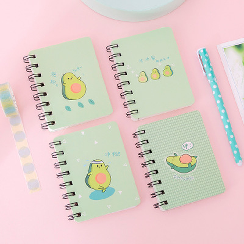 Notebooks For Students Notebooks And Journals Stationery Kawaii Dinosaur Book Cute School Supplies Avocado Planner Coil Book