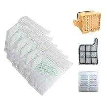 Hot! Stofzakken Filter Set Vervanging Kit Voor Vorwerk VK135 VK136 369 Stofzuiger
