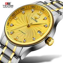TEVISE Fashion Mens Watches Automatic Self wind Mechanical Wristwatches Top Luxury Brand Business Male Clock weide brand leather sport quartz watches men water resistant mehanical hand wind analog automatic self wind luxury clock saat