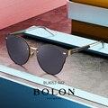 Bolon cat eye óculos de sol feminino 2020 nova alta qualidade preto rosa óculos polarizados bl8053