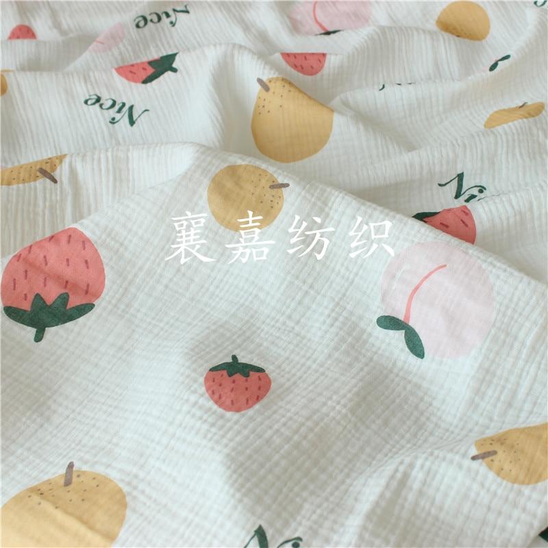Cotton Crepe Seersucker Leisure Tops Fabric Fabric Aliexpress