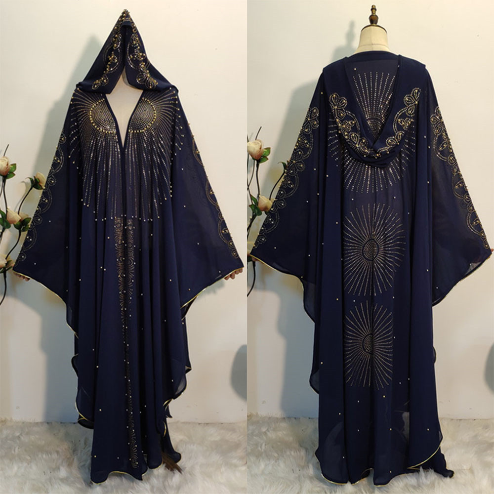 African Dresses For Women 2020 Africa Clothing Muslim Long Hijab Dress High Quality Length Fashion African Dress For Lady
