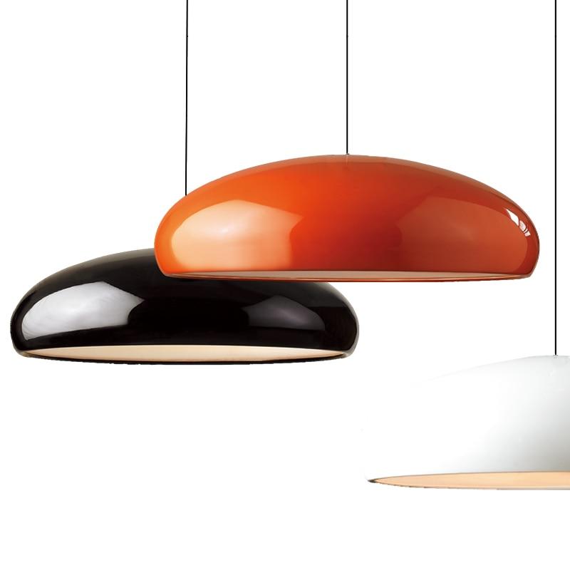 Lámpara colgante de diseño italiano nórdico minimalista para sala de estar, cocina, lámpara colgante de lujo para dormitorio, comedor, decoración para el hogar