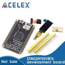 Placa de núcleo stm32h7 placa de desenvolvimento stm32h750vbt6 compatível com placa de sistema mínimo openmv