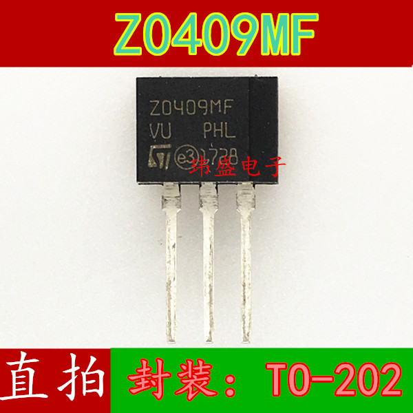 10pcs Z0409 <font><b>Z0409MF</b></font> TO202 ZO409MF image