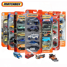 Original Matchbox Sports Toy Car Construction for Boys Truck Jeep Engineering Diecast Model Car Kids Toy for Children Play Set