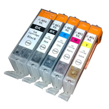цена на vilaxh PGI-650 CLI-651  Ink cartridge For Canon Pixma IP7260 MG5460 MX726 MX926 MG6460 MG5560 printer