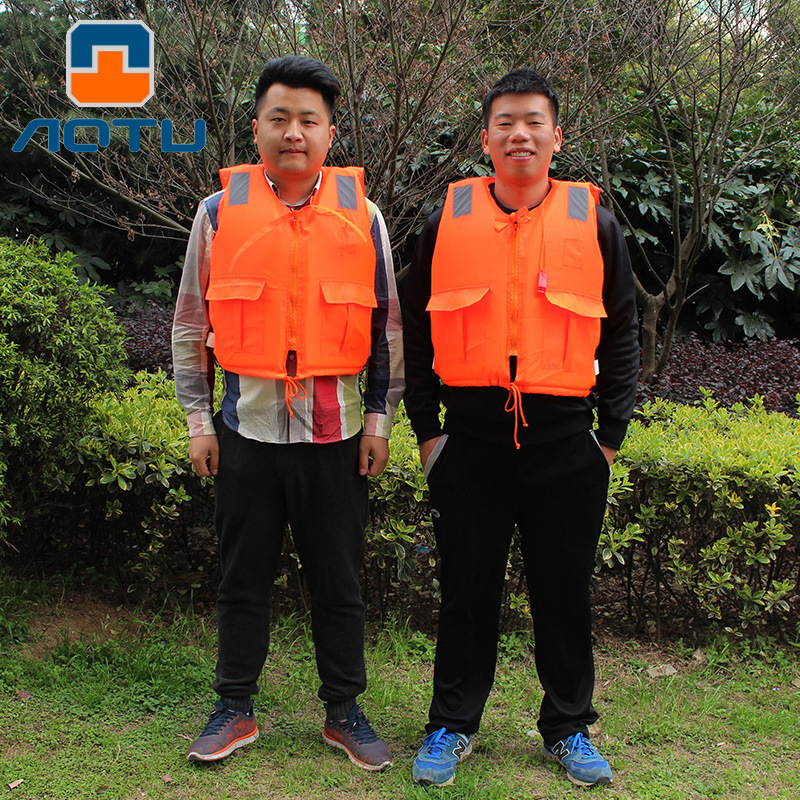 Bump Adult Life Jacket With Zipper Whistle Tour Bathing Suit Foam Diao Yu Yi Drifting Bathing Suit JSY8 Wholesale
