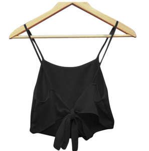Clothing Tank Summer Women's Strap-Top Camis HALTER Solid-Color Casual Fashionable Ladies