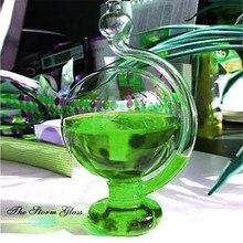 Вдохновленный стеклянный Погодный шторм, бутылка барометр для домашнего офиса DIY Декор MDD88