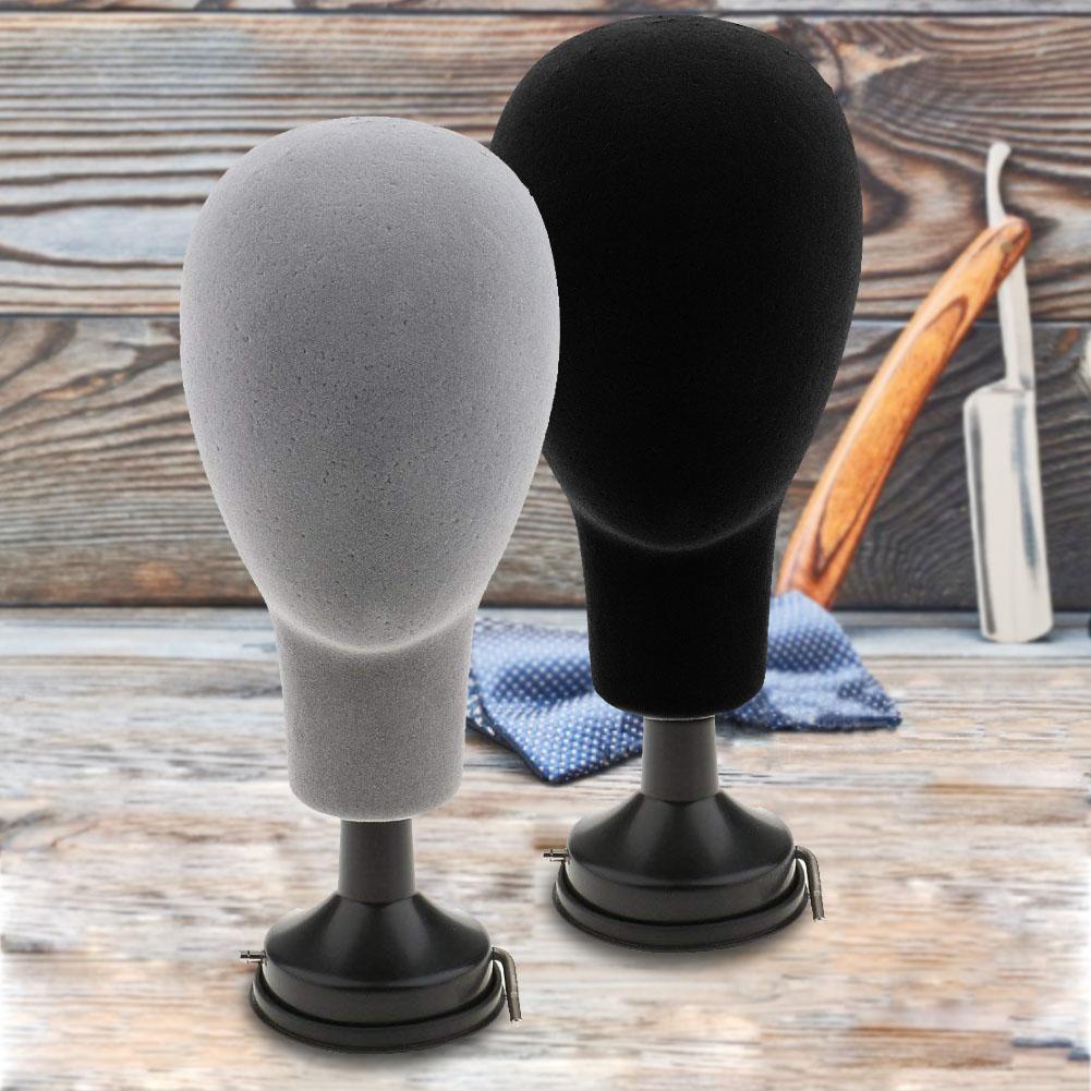 37cm placa Base de poliestireno cabeza de maniquí modelo pelucas tapas gafas soporte de exhibición 15cm estatua de David retratos de la cabeza Mini yeso decoración del hogar resina arte Sketch práctica decoración de la habitación escultura