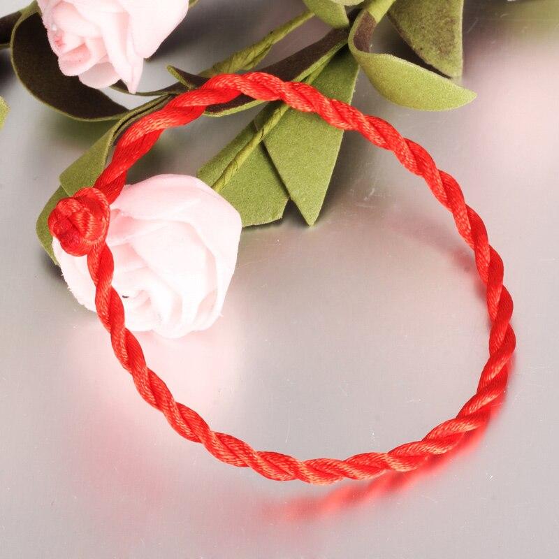 NIUYITID Red Thread Bracelet For Women Enfant Bracelet Femme 2019 Bracalete Tissu Girl string Charm Jewelry Drop Shipping 2