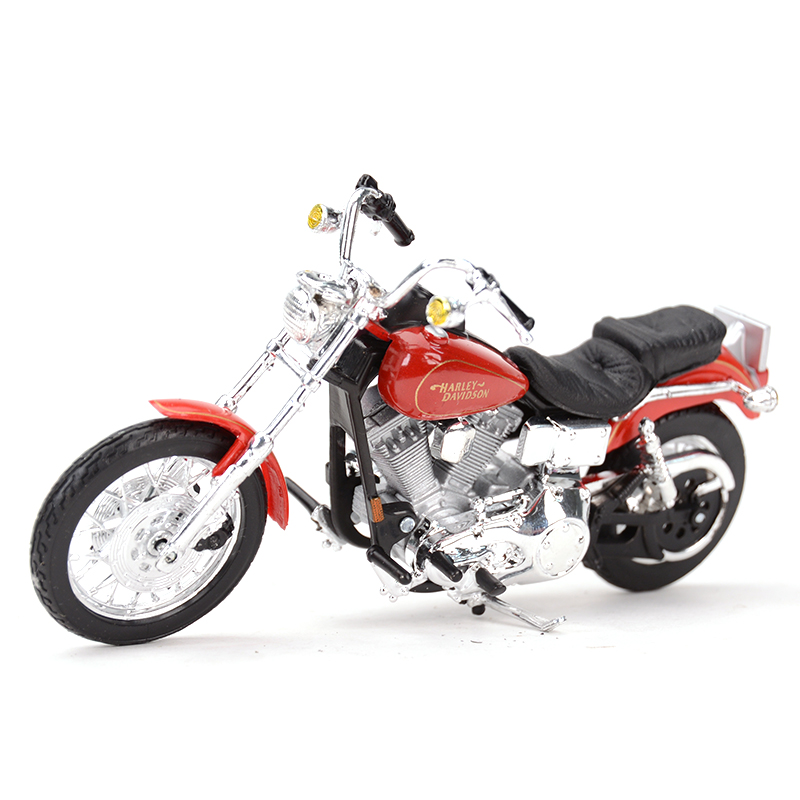 Maisto 1:18 1997 FXDL Dyna Low Rider Diecast Alloy Motorcycle Model Toy