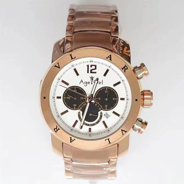 Luxury Brand New Men Watch Stainless Steel Rose Gold Silver Black Blue Chronograph Sapphire Waterproof Calendar Watches AAA+ | Fotoflaco.net