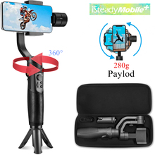 Hohem iSteady Мобильный плюс смартфон Gimbal стабилизатор для iPhone 11/11 Pro/Pro Max для Galaxy S10/Plus/S9 для видеоблоггера