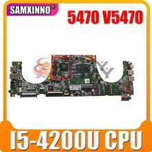 Оригинальная материнская плата для ноутбука DELL Vostro 5470 V5470 Core I5-4200U материнская плата CN-02TK7V 02TK7V DAJW8CMB8E1 N14P-GV2-S-A1
