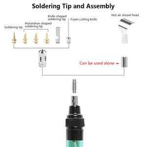 Image 2 - Good Quality MT 100 Gas Soldering Iron Electric Soldering Iron Gun Blow Torch wireless outdoor  Cordless DIY Butane Gas Gun IRON