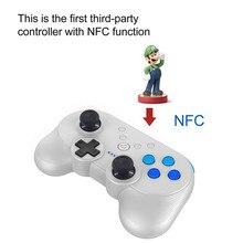 Przełącznik nintendo Mini kompaktowy bezprzewodowy kontroler gier Bluetooth Gamepad na konsolę Nintendos Switch NS z funkcją NFC