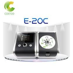 COXTOD GII CPAP cicha maszyna wspomagająca oddychanie Respirator z nosem pełna twarz poduszka maska wąż torba na bezdech senny przeciw chrapaniu