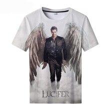 2021 New Round Neck T-shirt Lucifer Season 5 3D Printed T-shirts Lucifer T-shirt Cool Men and Women Unisex Oversized t-shirt